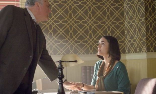 "una scena del sesto episodio di ""Wayward Pines"""