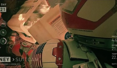 Il footage in The Martian