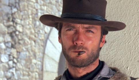 Clint Eastwood in Per un pugno di dollari