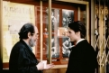 Stanley Kubrick e Tom Cruise sul set di Eyes Wide Shut