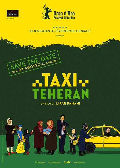 Locandina di Taxi Teheran