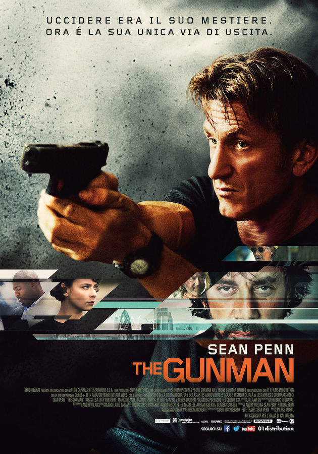 Locandina di The Gunman
